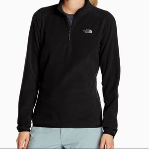 The North Face 1/4 Zip Black 2XL